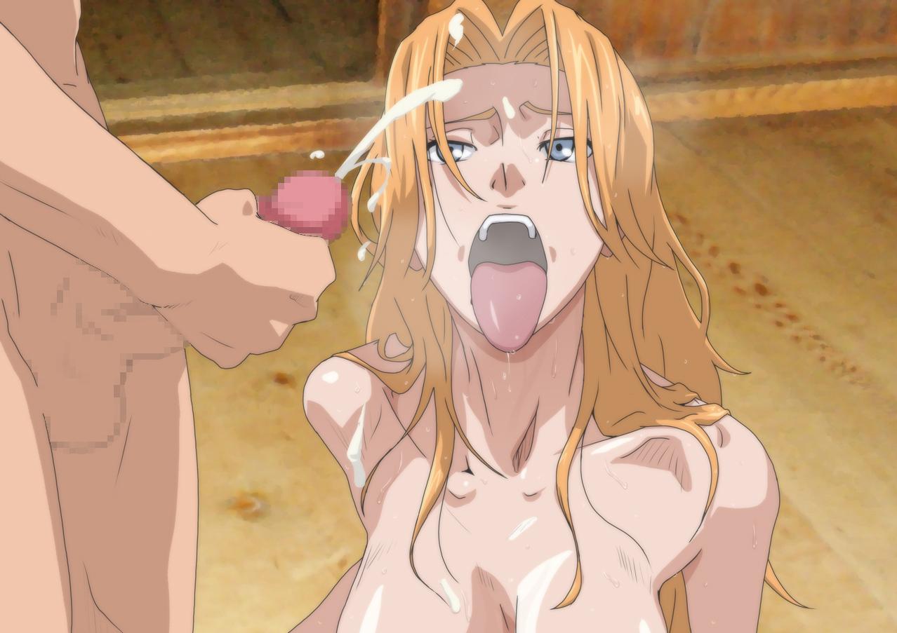 rangiku naked in tub from bleach