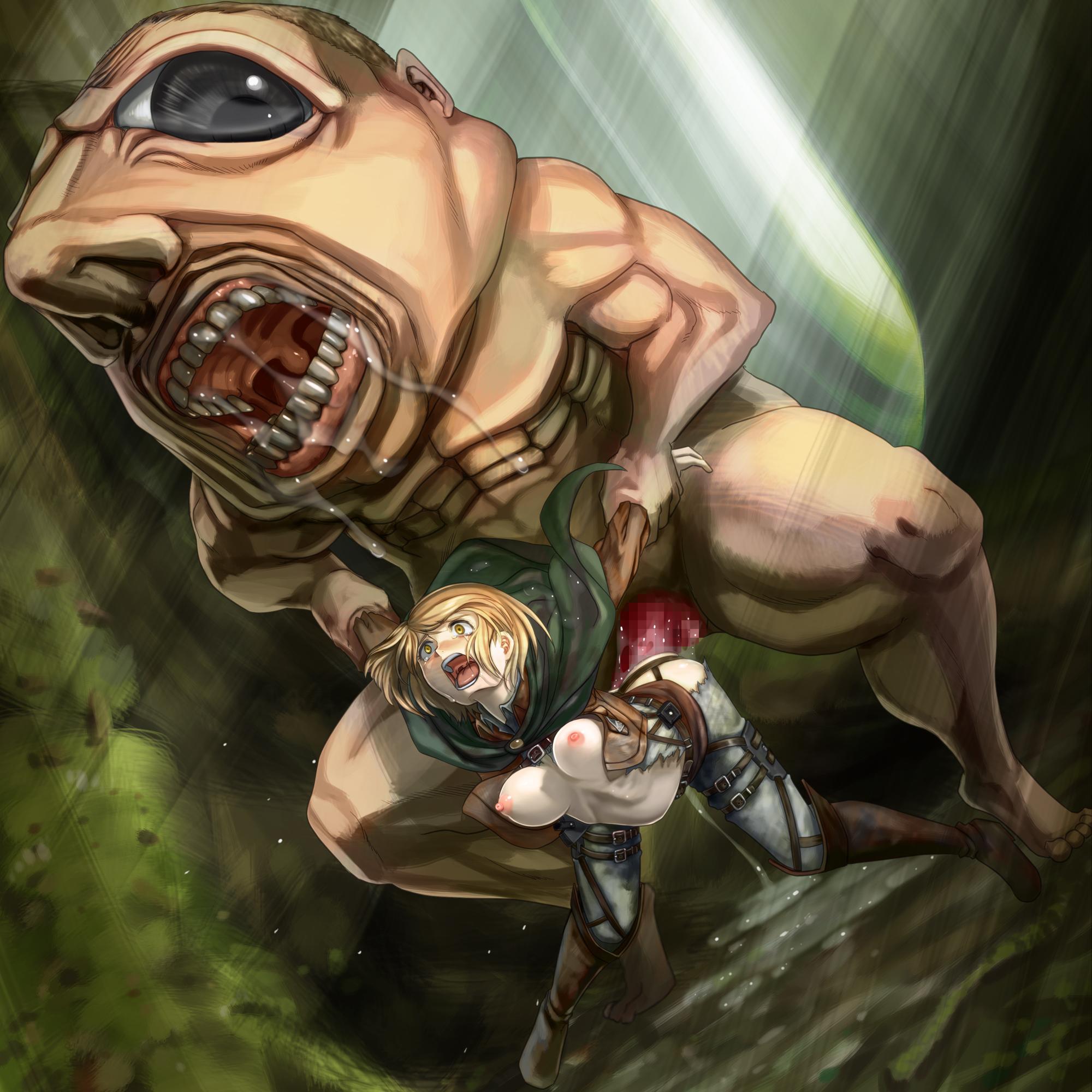 petra ral hentai rape by titan