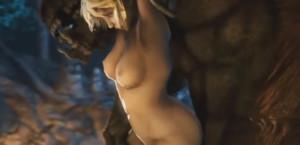 cassandra 3d monster rape porn