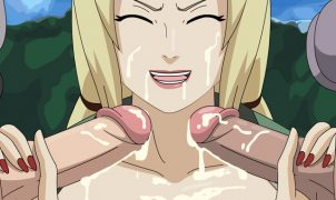 tsunade hentai sucks cocks