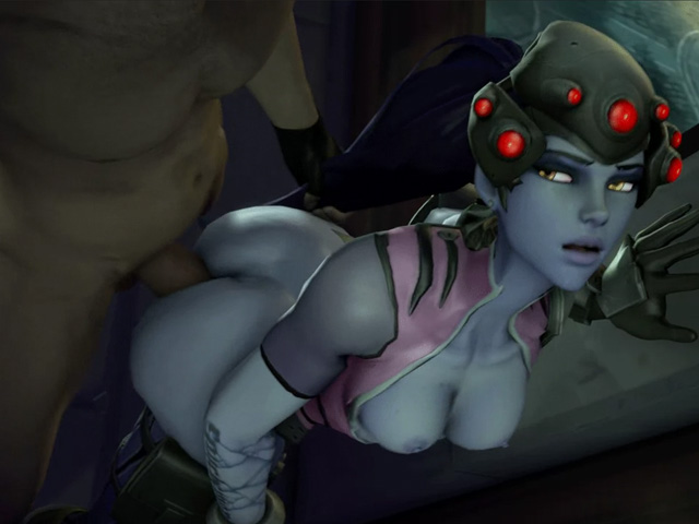 widowmaker fucks doggystyle