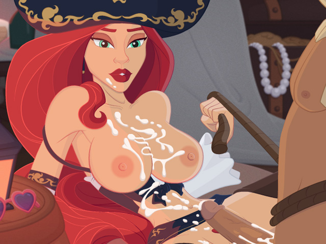 miss fortune hentai cum covered
