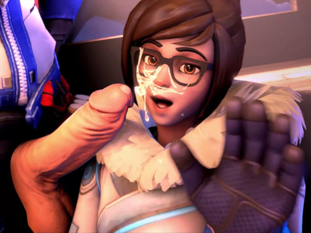 overwatch mei sex facial cumshot