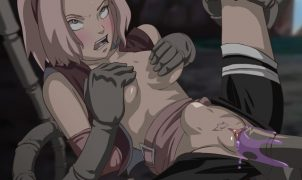 sakura tentacles rape by sasori