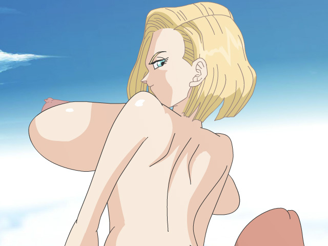 android 18 sex assjob