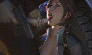 lara deepthroat 3d porn