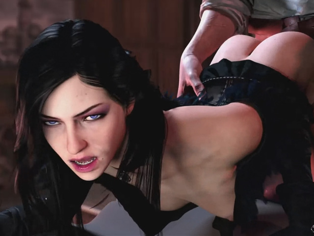 Yennefer sex doggystyle - The Witcher porn