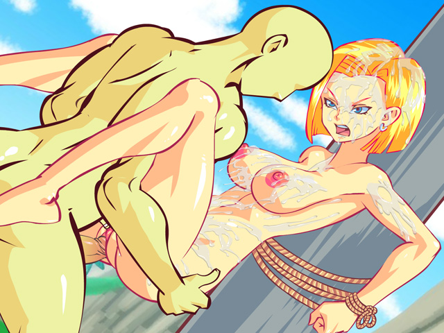 android 18 hentai sex rape