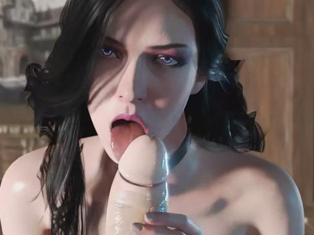 yennefer porn blowjob