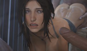 lara croft sex gang bang