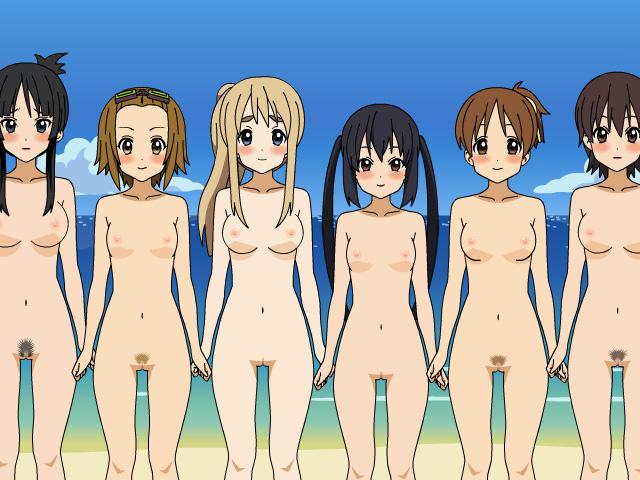 K-ON! Kisekai Undress