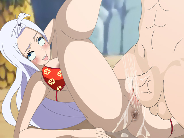 Mirajane pussy anal with big cock